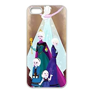 Frozen Princess Elsa and Anna Cell Phone Case for Iphone 5s