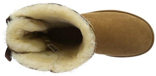 Ugg Damen Bailey Bow Schlupfstiefel Braun (Chestnut)