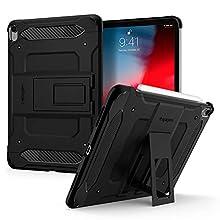 Spigen Tough Armor TECH Designed for iPad Pro 11 Case (2018) - Black