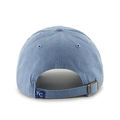 MLB Kansas City Royals '47 Brand Clean Up Adjustable Cap, One-Size