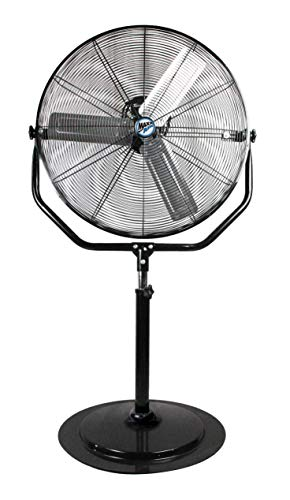 "Maxx Air Industrial Pedestal Fan | Heavy Duty 30"" Stand Fan, 4800 CFM"