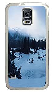 Samsung Galaxy S5 landscapes nature snow 8 PC Custom Samsung Galaxy S5 Case Cover Transparent