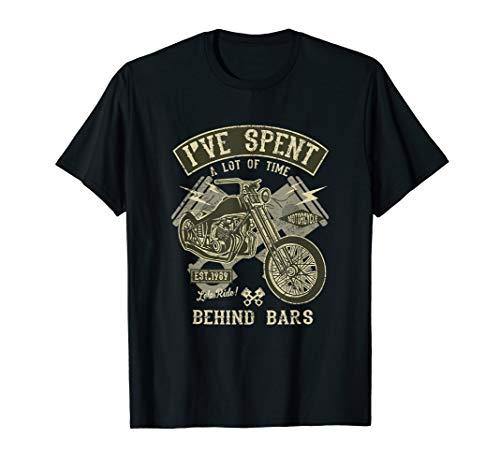 - Life Behind Bars Motorcycle T Shirt 20572