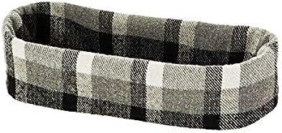obag Borde para bolso mini de lana estampado damero
