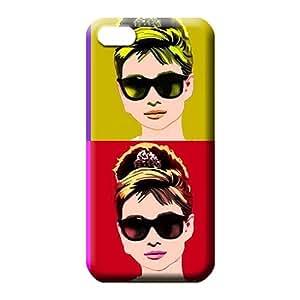 iphone 5c PC phone skins Hot Style Slim Audrey Hepburn