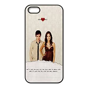 Custom Personalized Gossip Girl Back Cover Case TPU for iphone 5,5S JN-1000