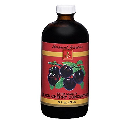 Bernard Jensen Black Cherry Concentrate Extra Quality, 16 Fluid Ounce (A Treat Black Cherry)