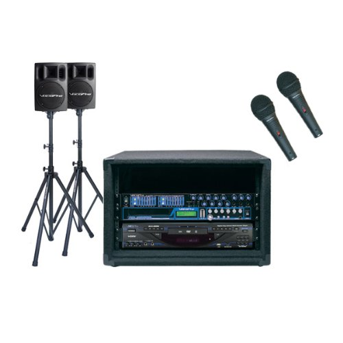Vocopro Recording Artist-300 with PV-802 400W Speaker System -  Ace Karaoke, HVCPAIA300
