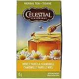 Celestial Seasonings Herb Tea Honey Vanilla Chamomile - 20 Tea Bags
