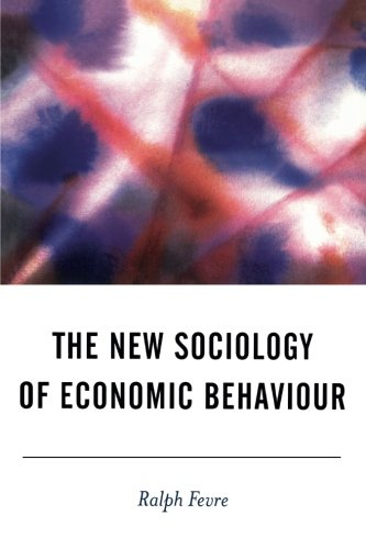 The New Sociology of Economic Behaviour (BSA New Horizons in Sociology)