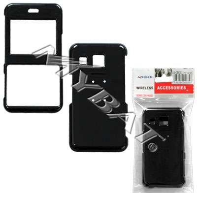 Lg Invision Plastic Case (Black Snap-On Cover Hard Case Cell Phone Protector for LG Invision CB630)