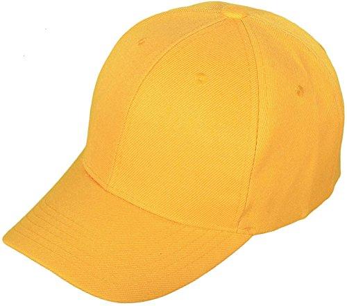 AimTrend-Adult-Solid-Sports-Blank-Baseball-Caps-Velcro-Adjustable