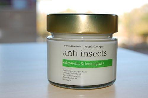 Vela aromática antimosquitos 100% repelente natural de cera de ...