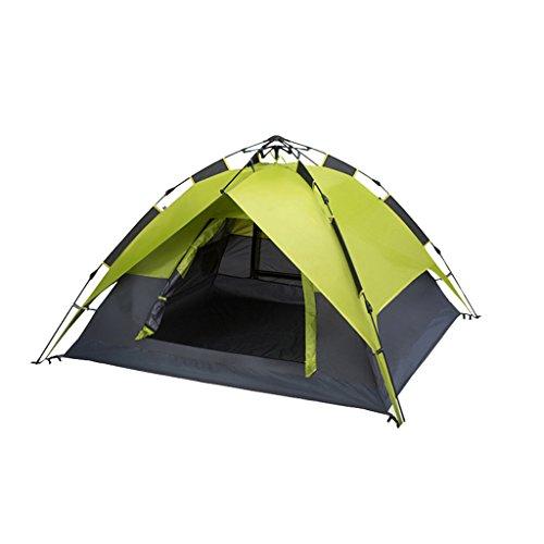 アプライアンスかんがい生むテント、アウトドア2人3-4人キャンプ用防雨家庭用自動盛りテント