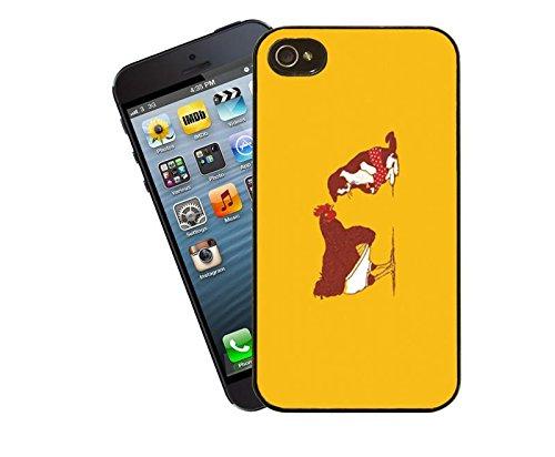Hahn und Katze iPhone Fall - wird diese Abdeckung Apple Modell 5 und 5 s - von Eclipse-Geschenk-Ideen passen.