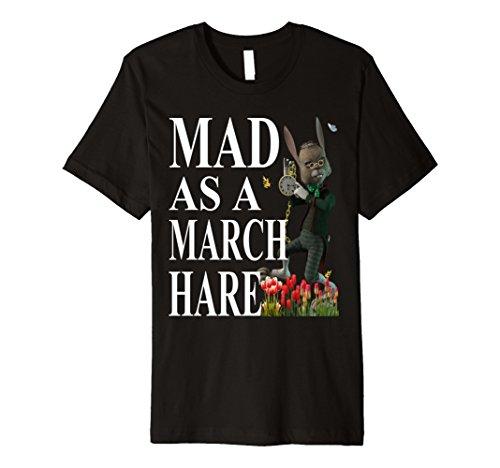 Alice in Wonderland White Rabbit T-Shirt Gift -