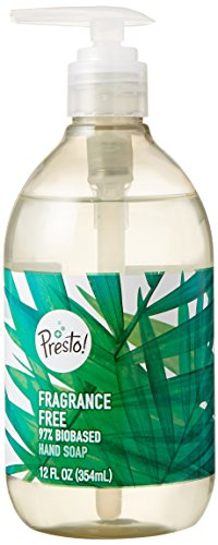 Amazon Brand – Presto! Biobased Hand Soap, Fragrance Free