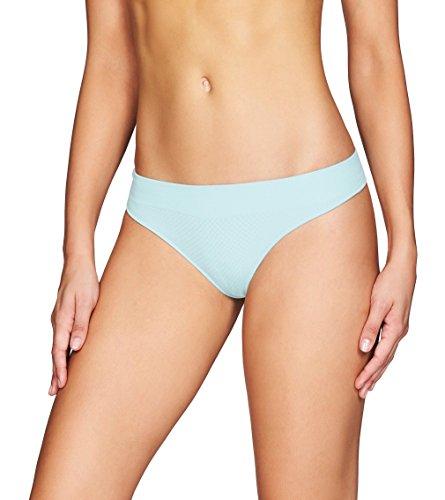 Heidi Klum Intimates Women's Play Seamless Thong Underwear - Ladies Sportswear & Lingerie - Clearwater/Shark, X-Large