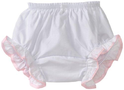 Bloomers Pink Heart - Mud Pie Baby-girls Newborn Heart Bloomers, Pink/White, 0-6 Months