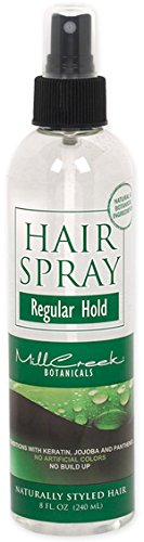 Mill Creek Hair Spray Regular Hold, 8 Fluid Ounce