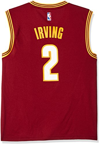 NBA Men's Cleveland Cavaliers Kyrie Irving Replica Player Stretch Jersey, 4X-Large, Maroon