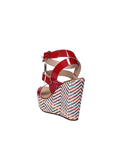 Femmes Jo Liu Rouge Sandales S17101E0352 compensées wCdU6dgqI
