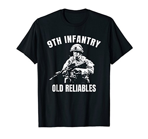 9th Infantry Old Reliables Motto Veteran Tshirt ()