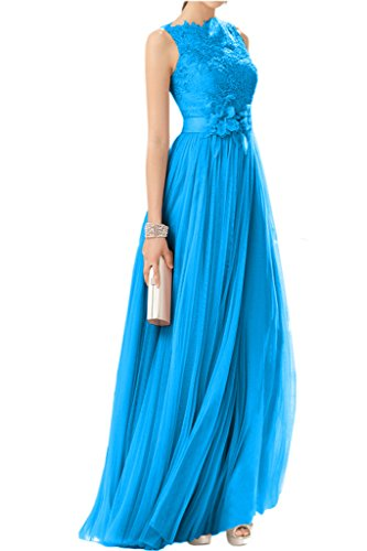 Victory Bridal - Robe - Trapèze - Femme -  Bleu - 50