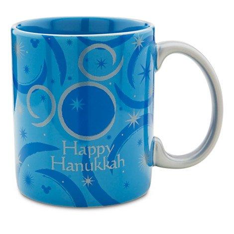 Disney Limited Edition Mickey Mouse Hanukkah Coffee Mug