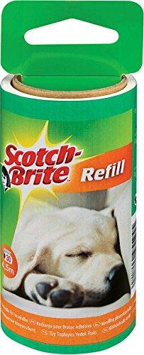 Scotch-Brite 837RP-30 Ersatzrolle für Tierhaar-Fusselroller, 30 Blatt (4er Set)