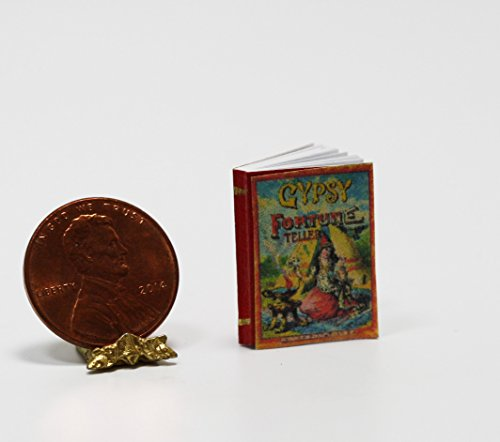 Dollhouse Miniature Halloween Gypsy Fortune Tellers (Fortune Teller Games Halloween)