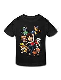 HeZone Toddler PAW Patrol Group Short Sleeve Little Kids T-shirts