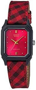 Casio Leather Cloth Band Watch For Women, LQ-142LB-4ADF
