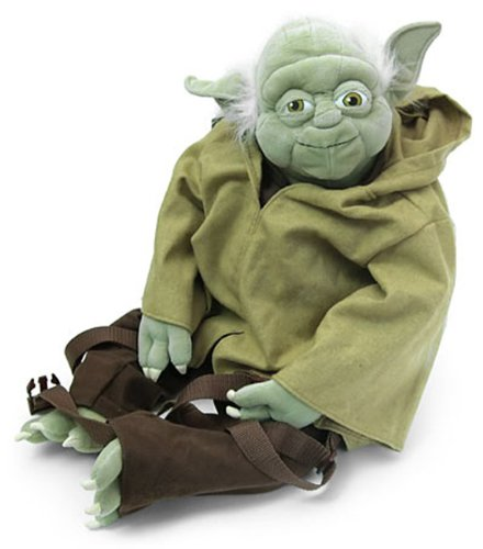 Comic Images Backpack Buddies Yoda Back Pack