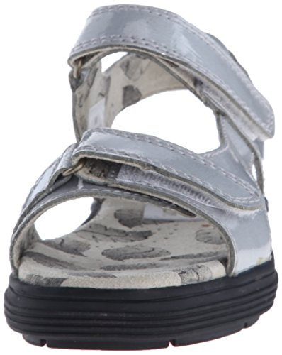 Golfstream Women's Two Strap Sandal Golf Shoe, Tuscany Faux Crocodile/Silver, 5 M US by Golfstream (Image #4)