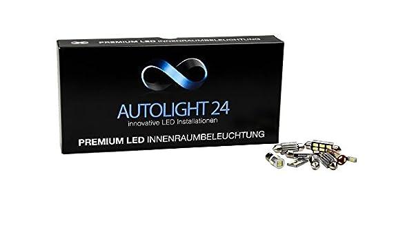 Premium Luz del paquete LED Iluminación Interior para Mitsubishi ASX: Amazon.es: Coche y moto
