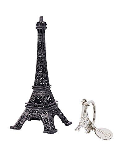 SICOHOME Eiffel Tower Decor,7.0inch,Black Metal Eiffel Tower Wedding