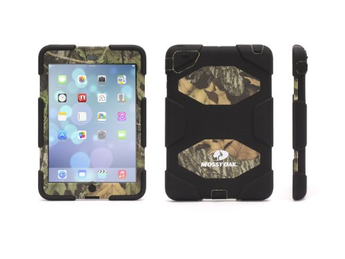 Griffin Obsession/Black Survivor All-Terrain in Mossy Oak Camo + Stand for iPad mini - Military-Duty Case for iPad mini