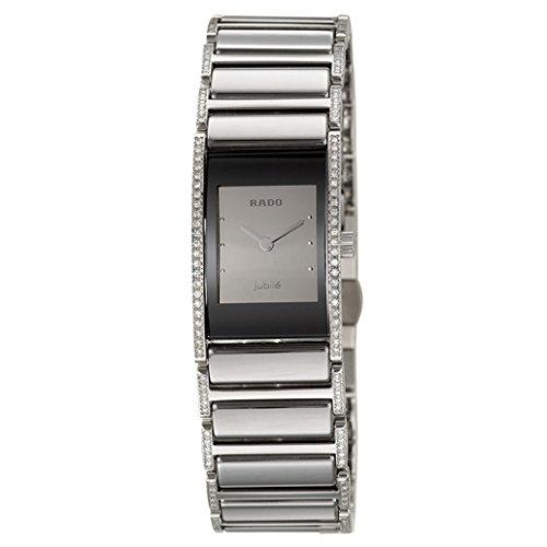 Rado Integral Jubile Reloj de Mujer Cuarzo Correa y Caja de Acero R20733122: Amazon.es: Relojes