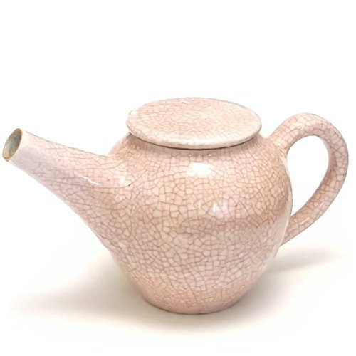 Japanese Mino Ware Zoho-Gama Kannyu pink teapot