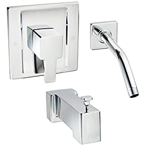 Moen TS2713NH Single Handle Tub and Shower Trim Kit, Chrome