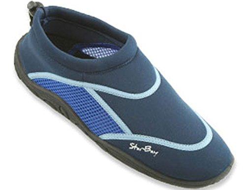 Starbay Varumärke Mens Sport Vatten Skor Aqua Strumpor Blue-5902