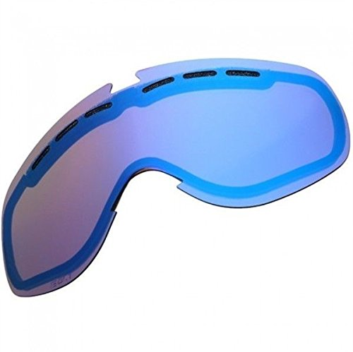 Bronze/Blue Chrome Mirror Electric Egb2 Bronze Blue Spare Replacement Goggle Oversized Goggles - Electric Egb2 Lens