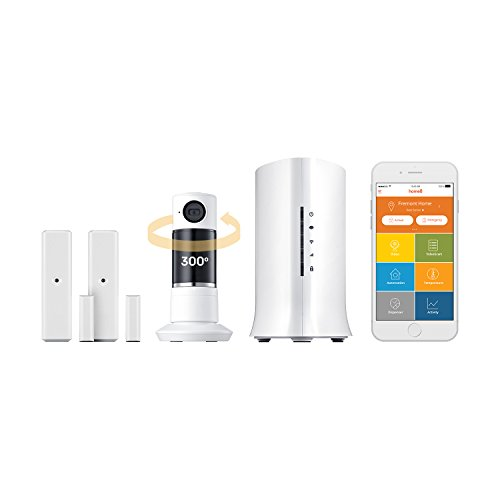 Home8 Video-Verified Interactive Alarm Security System - Wireless Home Security Alarm System with Twist HD Camera, Door/Window Sensors, Indoor Siren, and Free Basic Service by Home8