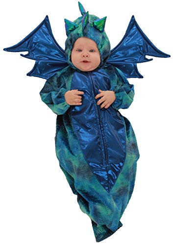 Princess Paradise Danny The Dragon Baby Costume, 0 to 3 -
