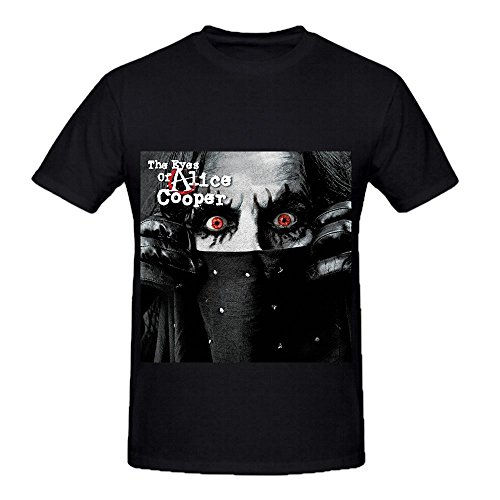 Alice Cooper The Eyes Of Alice Cooper Greatest Hits Men Customized Shirts Black