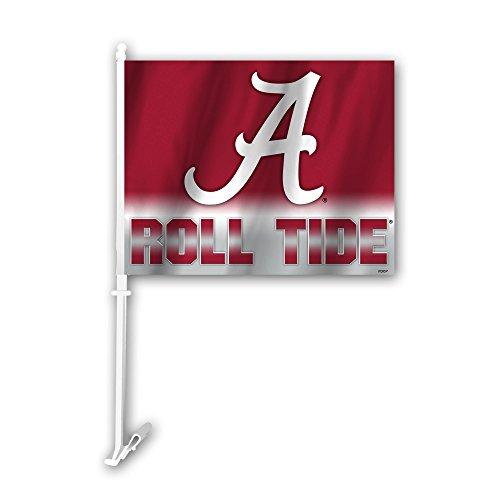 Alabama Crimson Tide Antenna - NCAA Alabama Crimson Tide Ombre Design Car Flag, 11