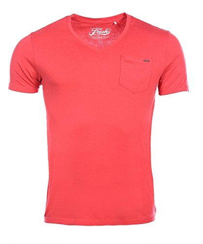 The Fresh Brand Herren Poloshirt granat