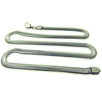DP Design® - Cadena de acero inoxidable, estilo biker/rapero ...