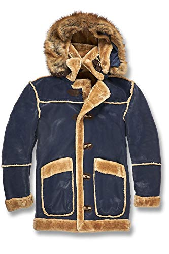 Jordan Graig Denali Shearling Jacket (Midnight Blue)
